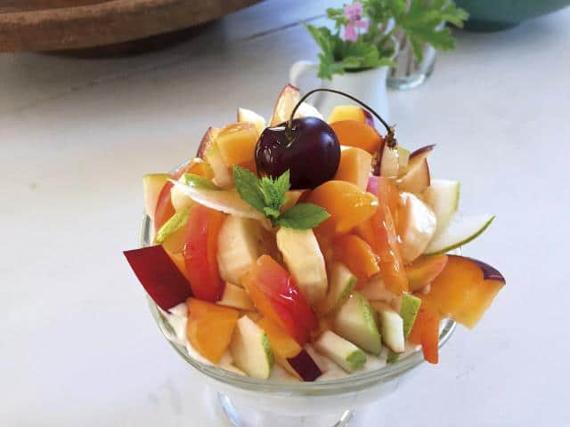 Γιατσέντο, Αμοργός - φρούτα