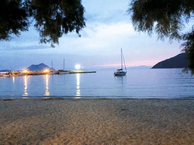 Γιατσέντο, Αμοργός - θέα, παραλία