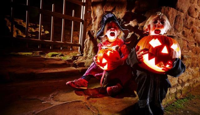 Carisbrooke Castle Halloween