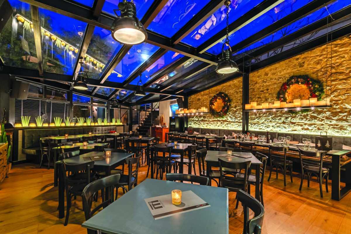 E-bar-restaurant, Αράχωβα, εσωτερικός χώρος