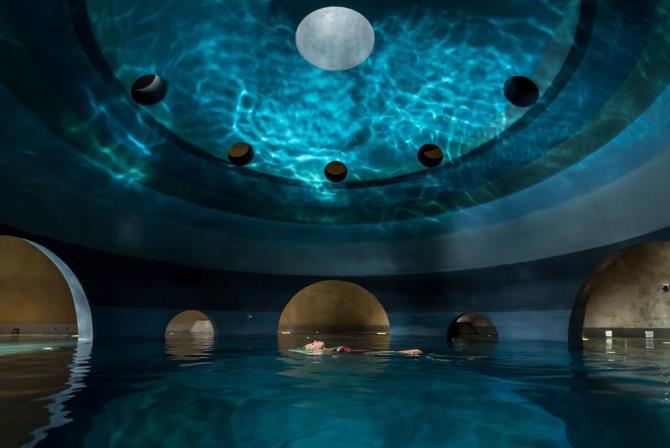 Euphoria Retreat θερμαινόμενη πισίνα