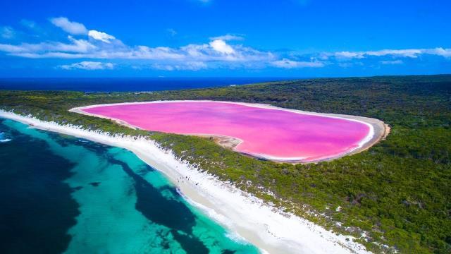 Λίμνη Hillier, Δυτική Αυστραλία