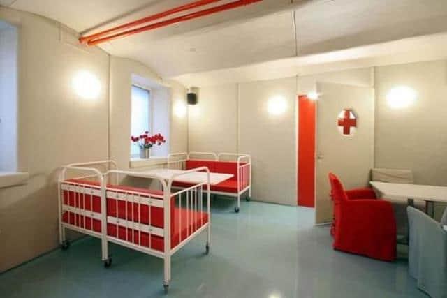 Εστιατόριο με θέμα το νοσοκομείο