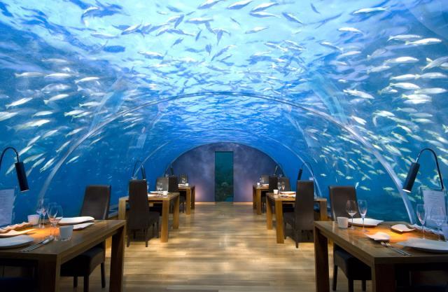 Εστιατόριο κάτω από τη θάλασσα