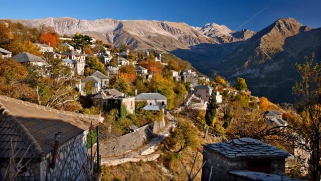 Καλαρρύτες, Ιωάννινα - ελληνικά χωριά