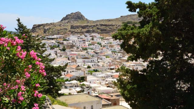 Λίνδος, Ρόδος - ελληνικά χωριά