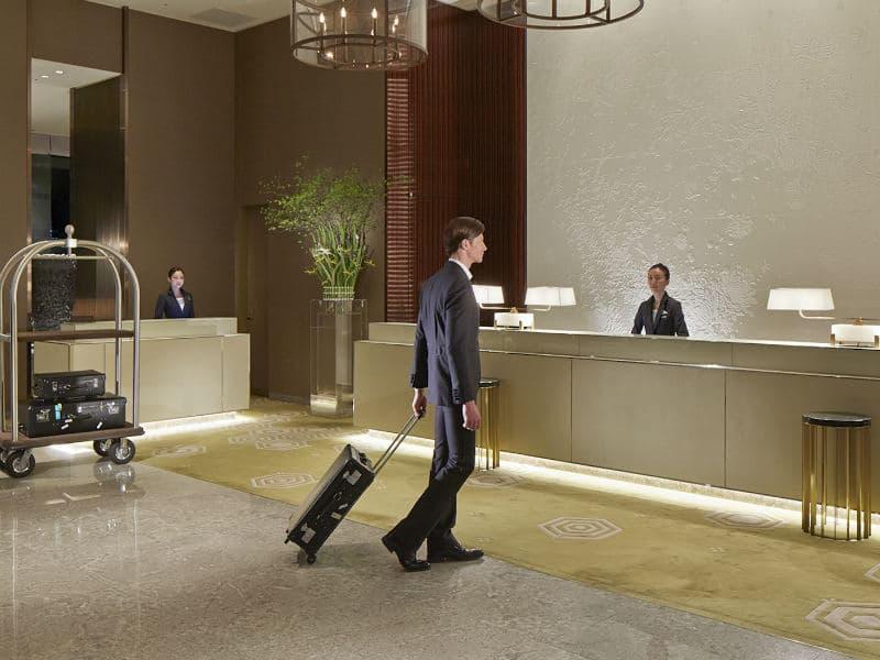 υποδοχή ξενοδοχείου
