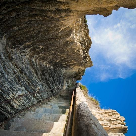 Σκαλοπάτια του Βασιλιά της Αραγονίας, Κορσική