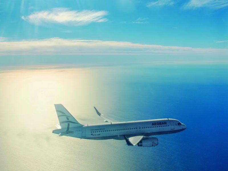 Aegean αεροπλάνο - προσφορά