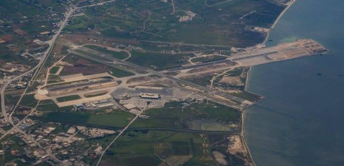 διάδρομος αεροδρομίου Μακεδονία