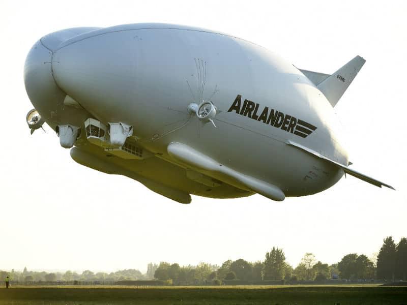 Airlander 10: Γνωρίστε το πολυτελές ιπτάμενο ξενοδοχείο!