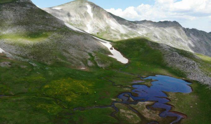 Πίνδος, αλπικές λίμνες