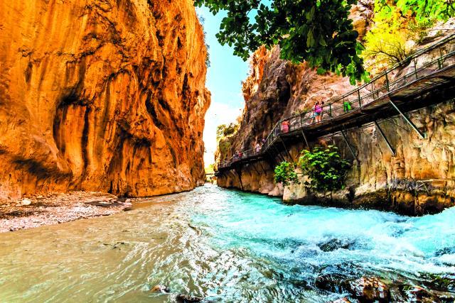 Αττάλεια - Saklikent Canyon