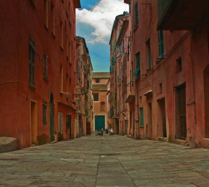 Οι παλιοί δρόμοι της Bastia
