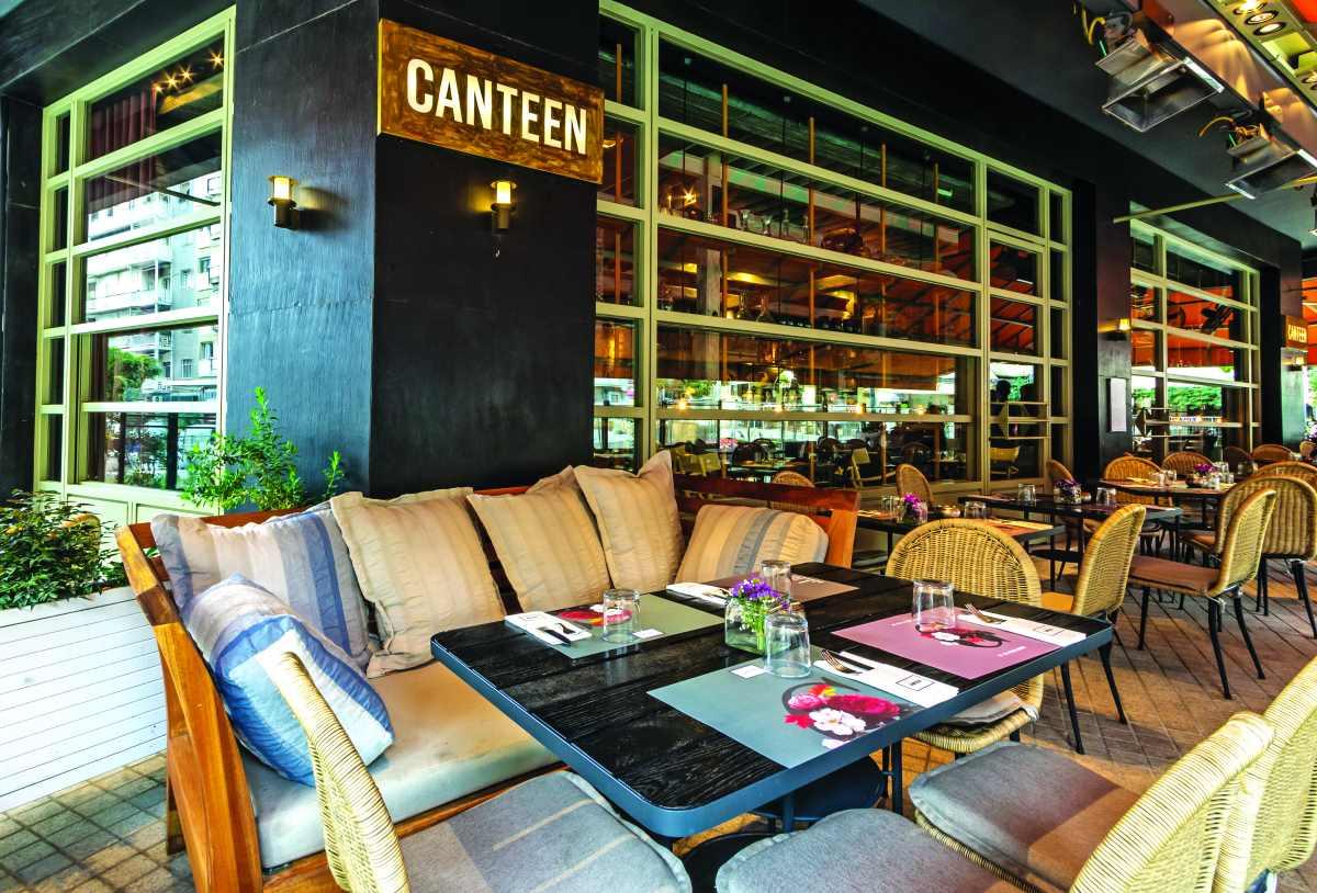 Canteen εξωτερικός χώρος