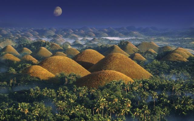 Σοκολατένιοι Λόφοι, νησί Bohol, Φιλιππίνες