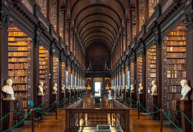 Βιβλιοθήκη Trinity, Δουβλίνο, Ιρλανδία