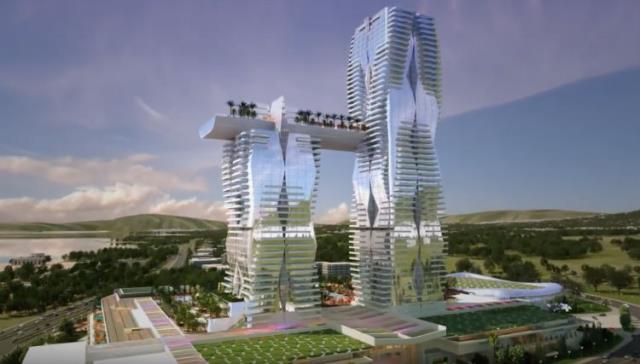 Ελληνικό σχέδια Mohegan casino