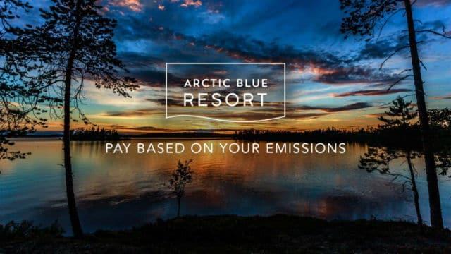 Arctic Blue Resort, οικολογικό ξενοδοχείο Φινλανδία