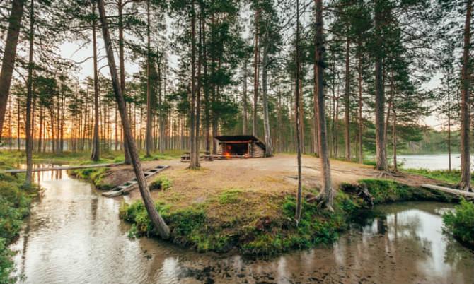 Εθνικό Πάρκο Hossa, Φινλανδία
