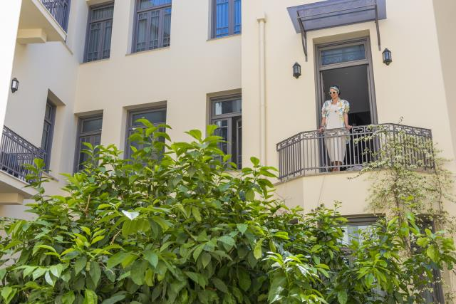 Inn Athens room view