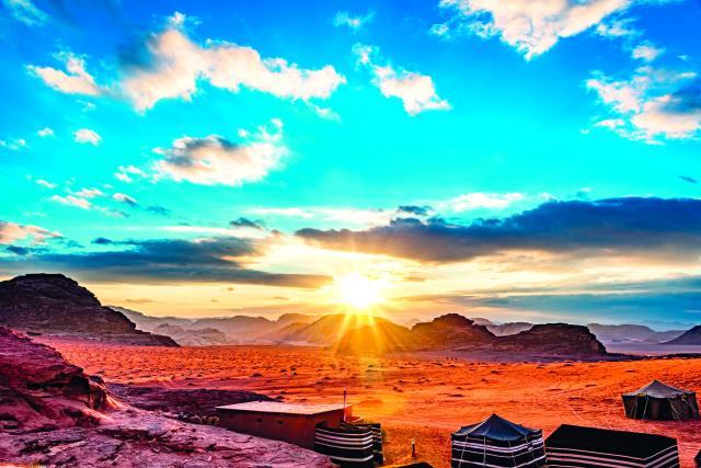 Έρημος Wadi Rum
