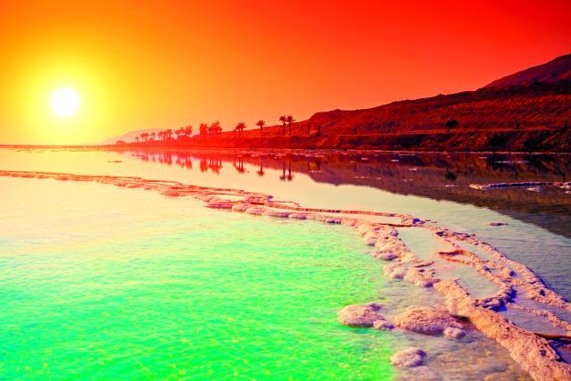 Νεκρά Θάλασσα Ιορδανία