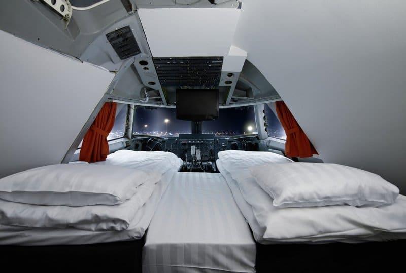 αεροπλάνο ξενοδοχείο