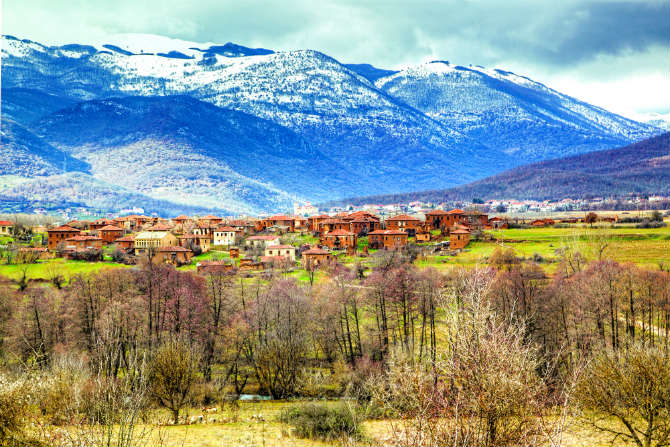 Κορέστεια - Χωριό Μελά, Καστοριά