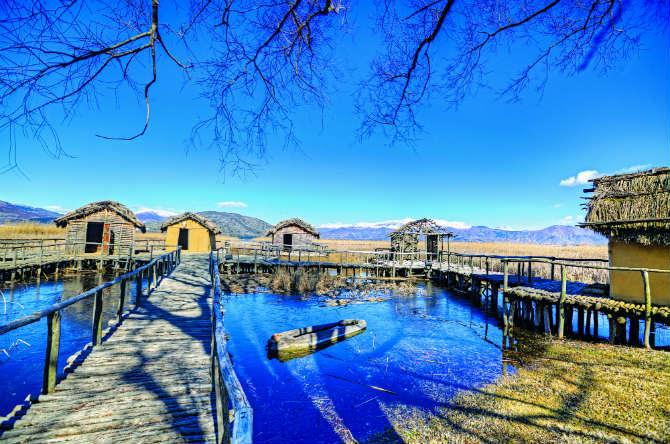 Ο λιμναίος οικισμός του Δισπηλιού, Καστοριά