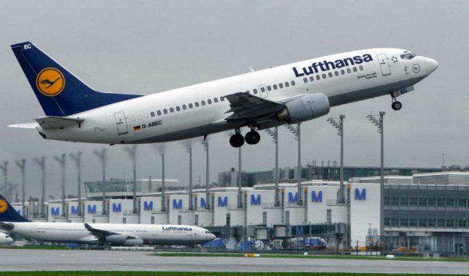 Χριστίνα Μπόμπα καμπάνια Lufthansa