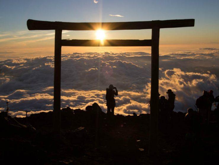 ανατολή Φουτζιγιάμα