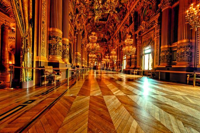 Όπερα Garnier εσωτερικό μέρος
