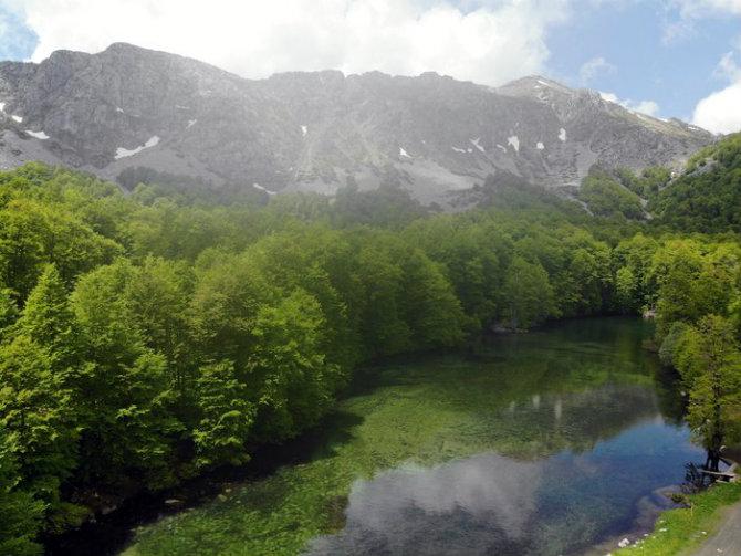Αλπικές λίμνες, Πίνδος