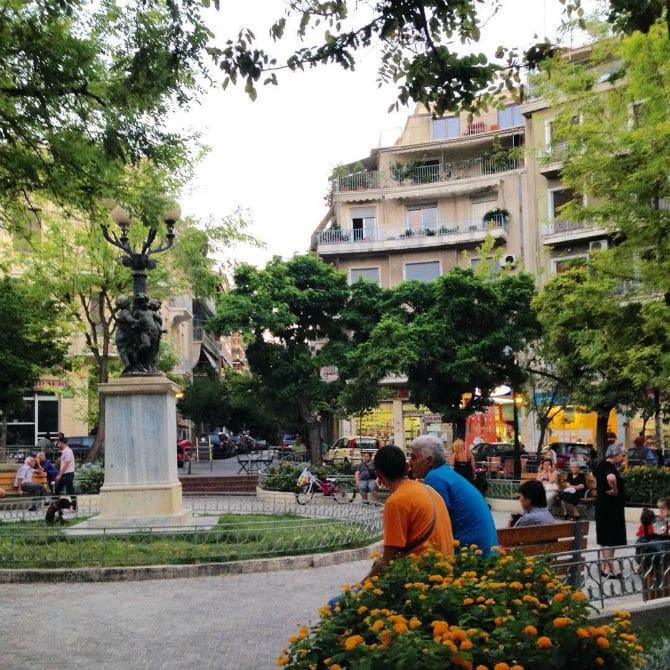 πλατεία αγιου γεωργίου κυψελη