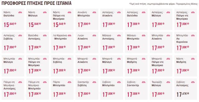 Προσφορά Volotea 17€ Ισπανία (24/10/2019)