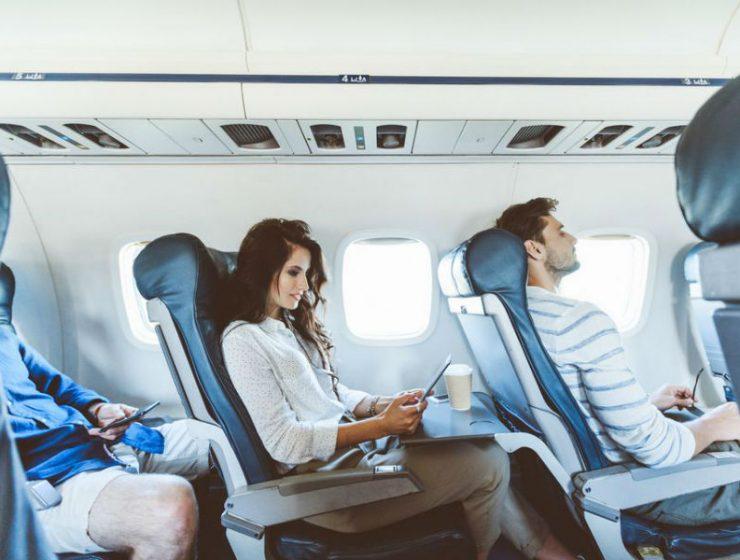 Kανόνες συμπεριφοράς στο αεροπλάνο