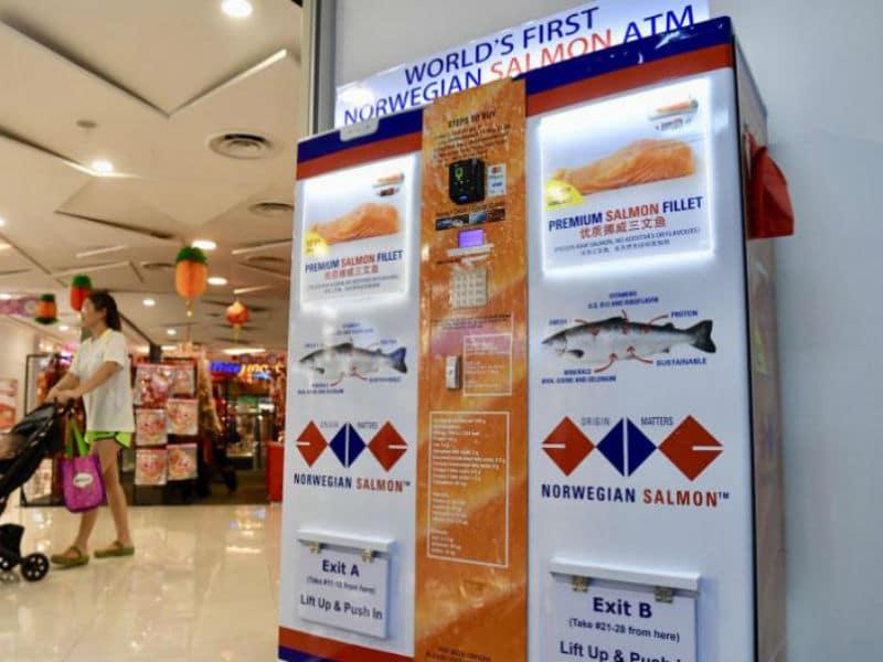 Το πρώτο ATM… σολομού στον κόσμο είναι γεγονός! Που βρίσκεται;