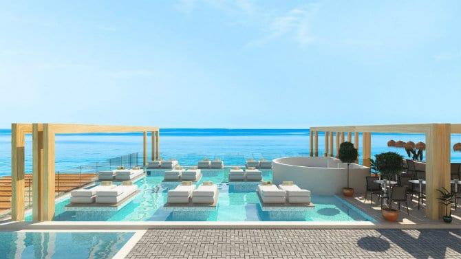 Πισίνα, Enorme Santanna Beach