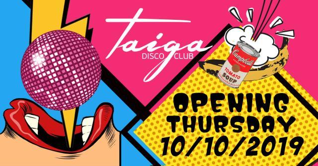 Taiga disco opening Ιωάννινα