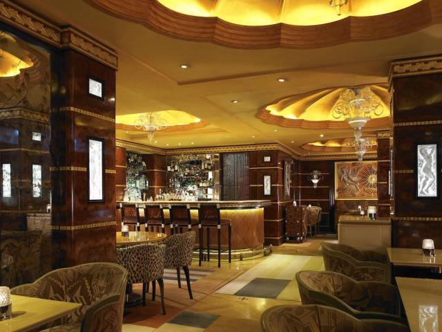 The Ritz bar