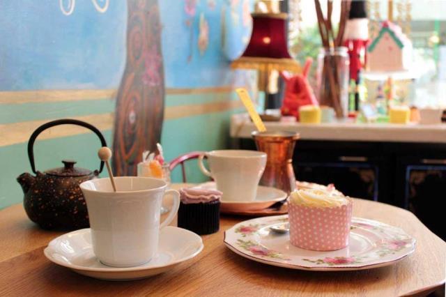 Things in jars - cupcakes