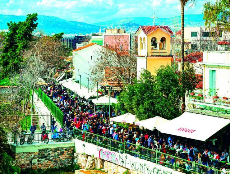 Θησείο: Βόλτες κάτω από τη σκιά της Ακρόπολης!