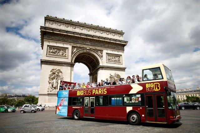 Τουριστικό λεωφορείο Παρίσι