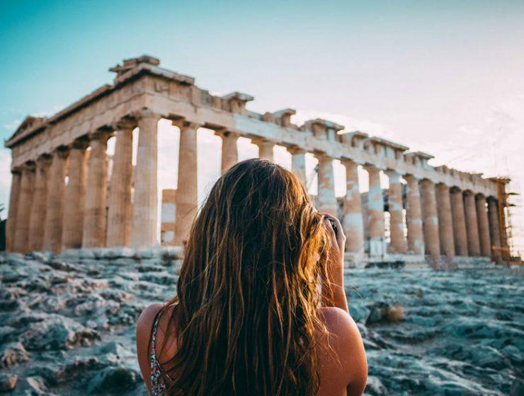 προβολή της Ελλάδας