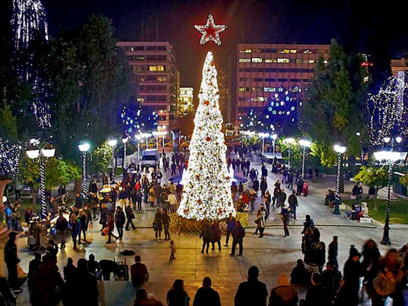 Αθήνα Χριστούγεννα