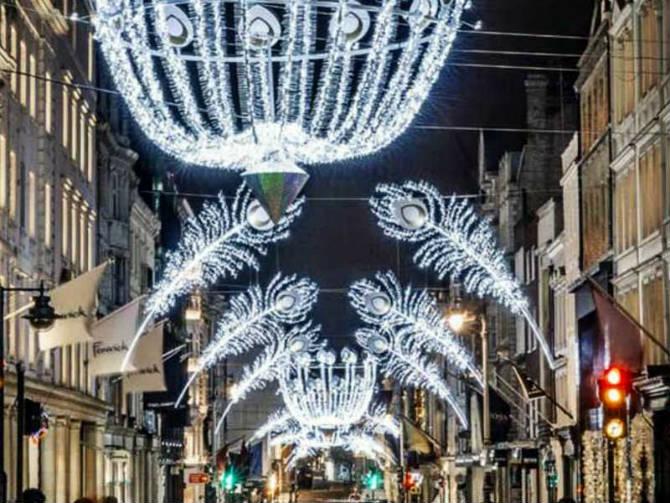 Bond Street, Λονδίνο Χριστούγεννα
