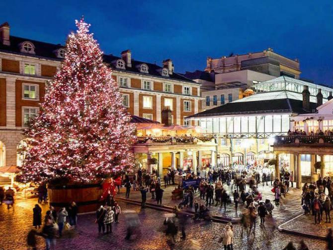 Covent Garden, Λονδίνο Χριστούγεννα