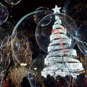 Αθήνα χριστουγεννιάτικο δέντρο