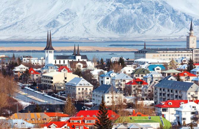 Ισλανδία ασφαλείς πόλεις 2020